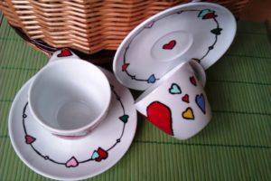 Malba na porcelan