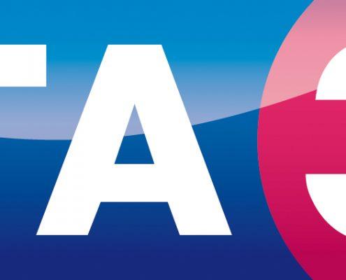 logo TA3 3D